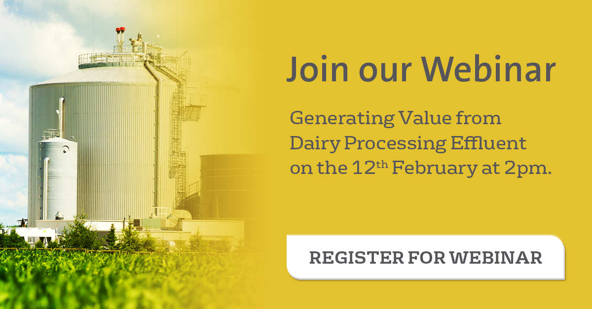 Join Webinar - Generating Value from Dairy Processing Effluent