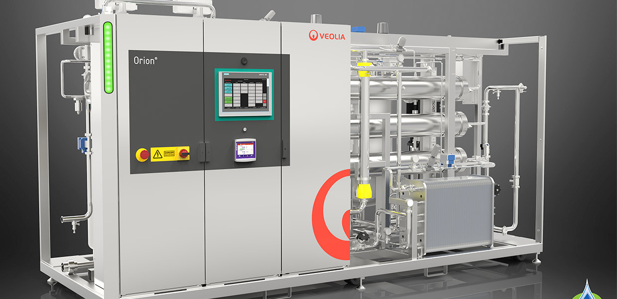 Veolia Water Technologies launches a new generation of Orion pharmaceutical water systems