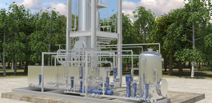 Innovative continuous sludge-reduction solution that combines thermal hydrolysis and anaerobic digestion.