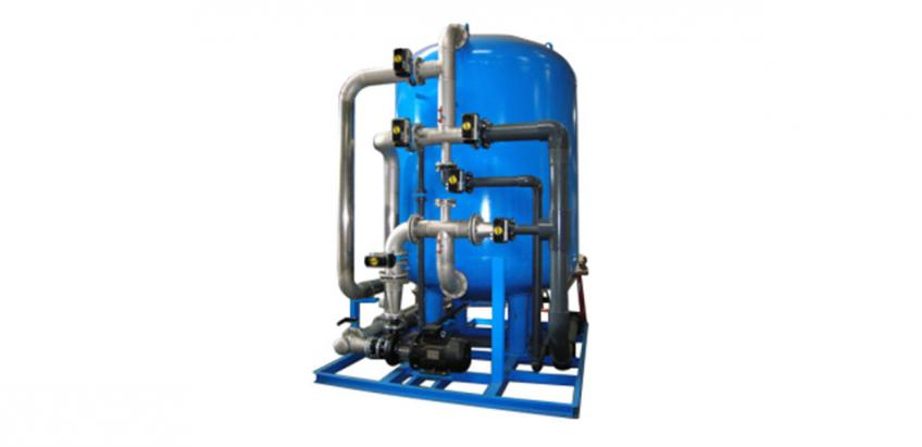 Nitrate-removal system for reliable and safe drinking water treatment.