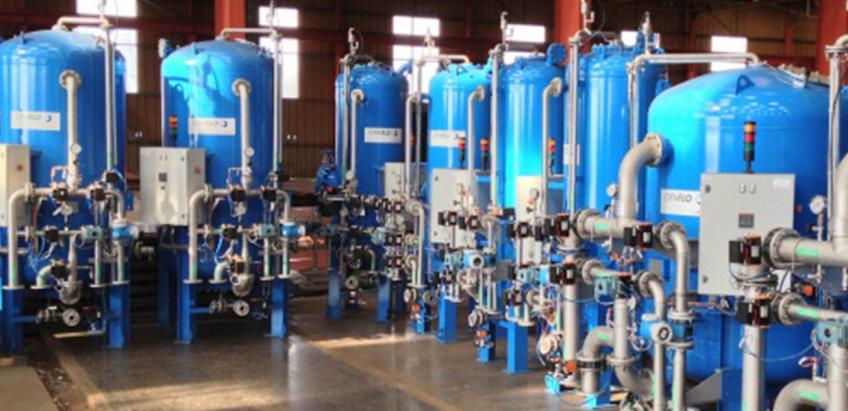 Advanced drinking water filtration technologies with a range of media options.