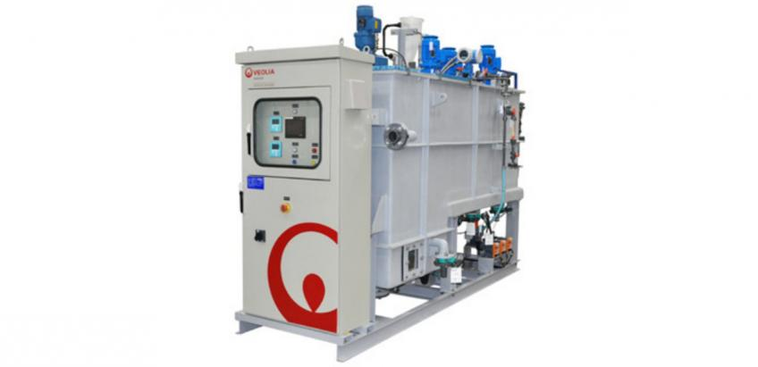 A Veolia-patented high-performance water clarifier for municipal and industrial water treatment.