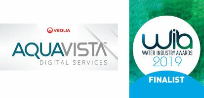 AQUAVISTA shortlisted at the Water Industry Awards