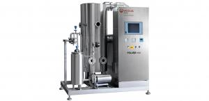 Packaged distillation systems that make highly purified water and water for injection.